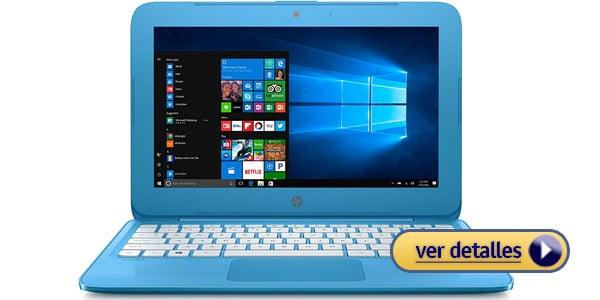 HP Stream 11 6 Laptop barata para estudiantes