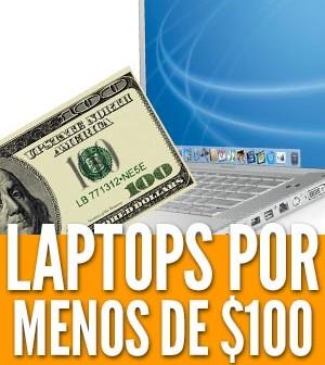 Laptops por menos de $100 dólares euros