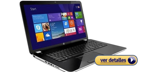 Mejores laptops por menos de $500: HP Pavilion 17-E112DX