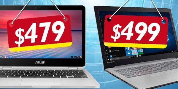 laptops por menos de 500 dolares