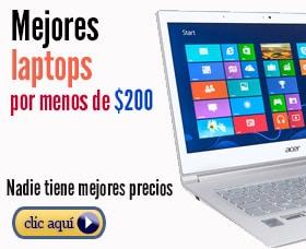 mejor laptops menos de 200 dolares euros