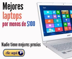 mejores laptops por menos de 100 dolares euros