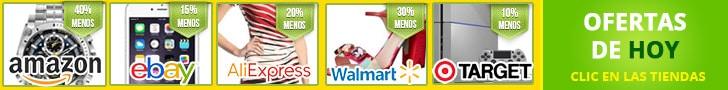 mejores ofertas de hoy amazon ebay aliexpress walmart target cupones descuento