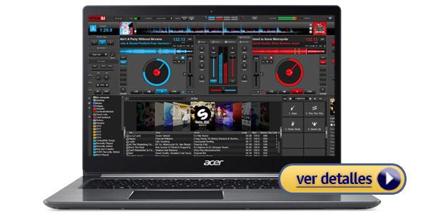 Acer Swift 3 laptop barata para DJs