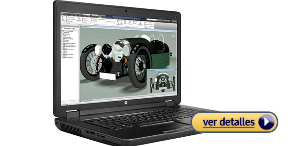 HP ZBook 17 G2 laptops para arquitectos