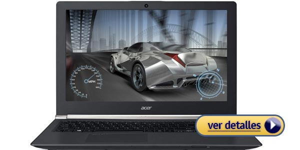 Laptops para juegos baratas: Acer Aspire E5-551-T5SV