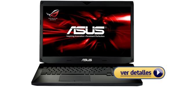 Mejor laptop para fotógrafos: ASUS G750 de 17,3 pulgadas