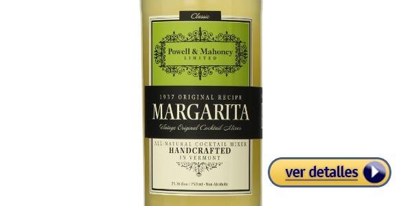 Mejor mezcla de margaritas con mejor sabor: Mezcla de Margaritas Powell & Mahoney