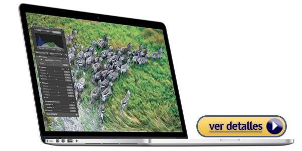 Mejores laptops para fotografía: Apple MacBook Pro 15.4 con Retina