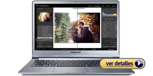 Mejores laptops para fotografía: Samsung Series 9 Ultrabook de 13 pulgadas