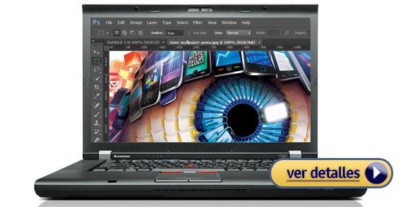 Mejores portátiles de fotografía: Lenovo ThinkPad T520