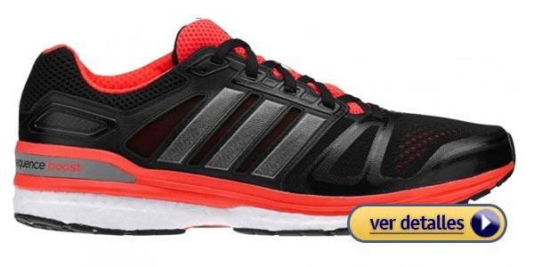Mejores zapatos para pie plano: Supernova Sequence Boost 8 de Adidas