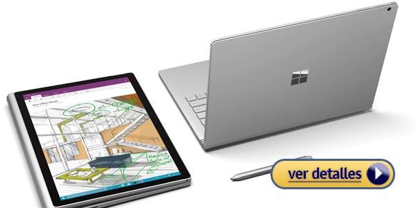Microsoft Surface Book mejor computadora para arquitectos