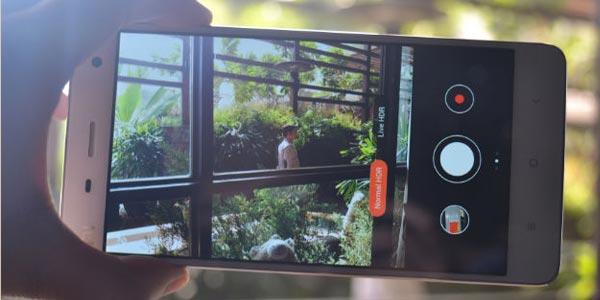 Xiaomi Mi Note: Cámara