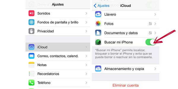 como localizar un iphone 6s por internet