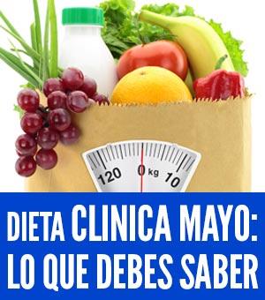 es la dieta de la clínica mayo efectiva