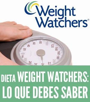 Dieta Weight Watchers: Pierde peso sin dejar de comer