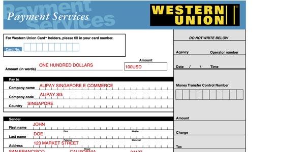 Pagar en aliexpress con western union gu a completa for Oficina western union sevilla