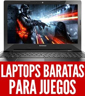 laptops para juegos baratas