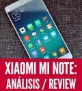 xiaomi mi note análisis review