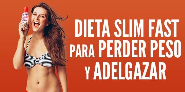 Dieta Slim Fast funciona Se puede perder peso