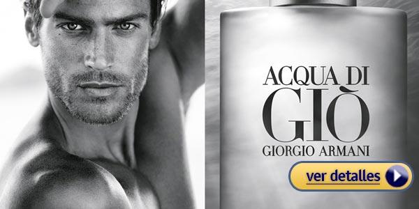 Mejores perfumes para hombre Giorgio Armani Acqua di Gio
