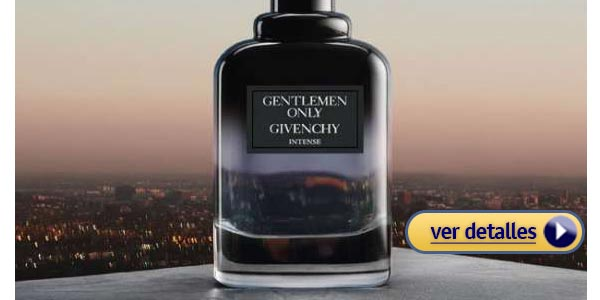 Mejores perfumes para hombre Givenchy Gentlemen Only Intense