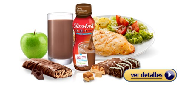 Qué es la dieta Slim Fast para perder peso adelgazar