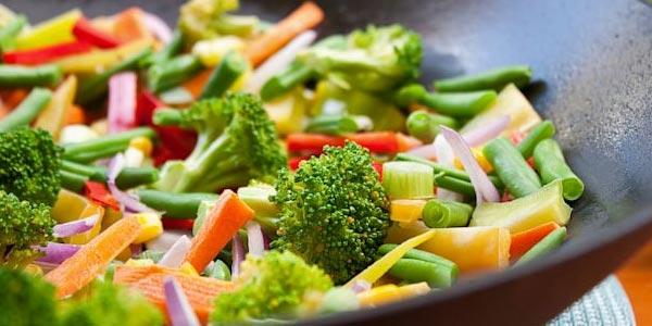 Resumen de la dieta vegetariana