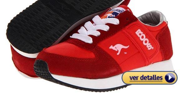 Zapatos para niños con pie plano: KangaROOS Kids Combat