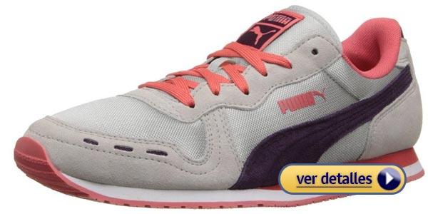 Zapatos para niños con pie plano: Puma Kids Cabana Racer