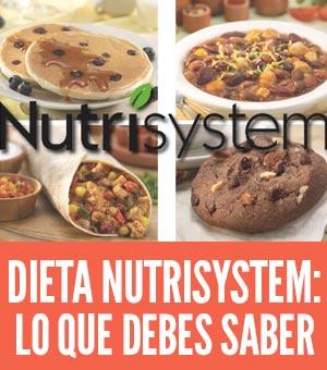nutrisystem dieta