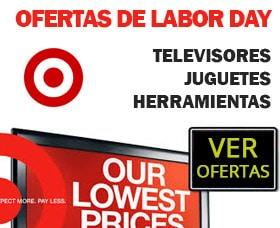 oferta labor day target