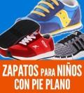 zapatos para niños con pie plano