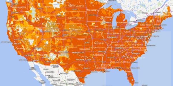 AT&T mapa de Cobertura análisis review en español