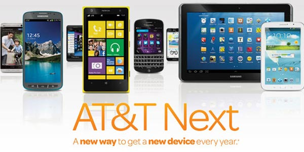 ¿Cómo funciona AT & T Next?