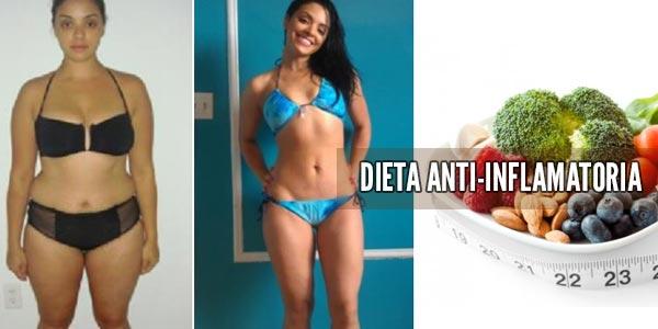 Dieta antiinflamatoria: ¿Se puede perder peso?
