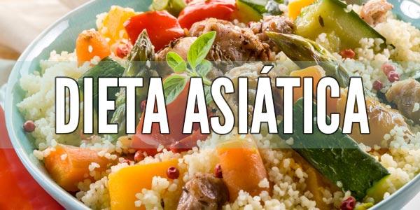 Dietas para prevenir la diabetes: Dieta asiática tradicional