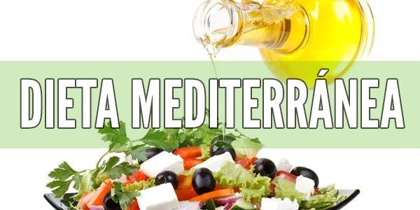 Dietas saludables para perder peso: Dieta Mediterránea