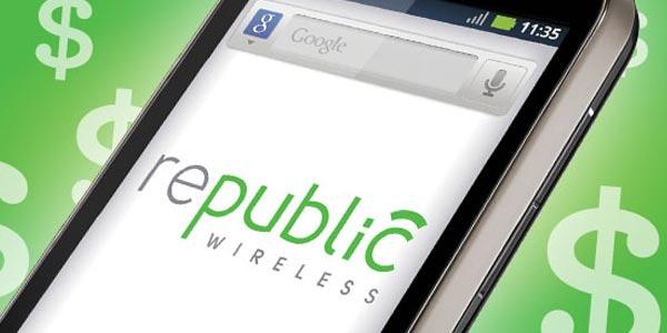 Mejores compañía con llamadas por Wi-Fi: Republic Wireless