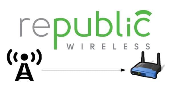 Republic Wireless llamar por WiFi celular