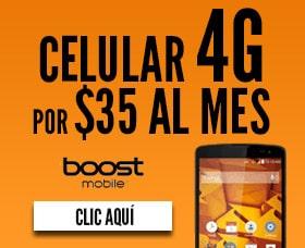 boost mobile celular 4g planes vale la pena