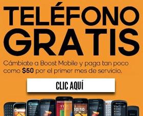 compania de celular sin contrato boost mobile