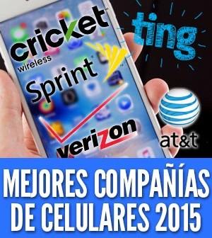 companias de celulares 2015
