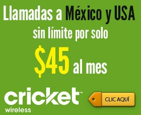cricket wireless compania de celular barato usa