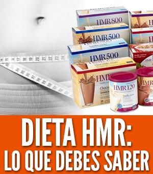 dieta hmr