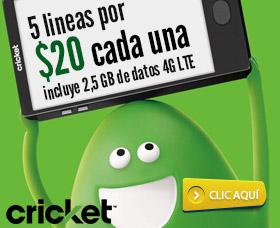 mejor compañia de celulares sin contrato cricket wireless