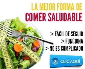 mejor forma de bajar de peso comer saludable