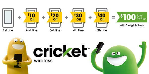 mejor plan familiar celular cricket wireless