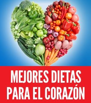 Mejores dietas para el corazón